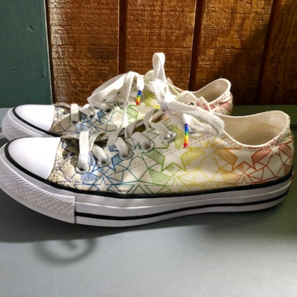 727f55a2ef37 Converse Shoes - Converse Chuck Taylor All Star Pride Geostar Low